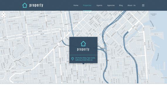 property – real estate psd template screenshot 14