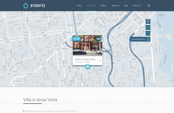 property – real estate psd template screenshot 4