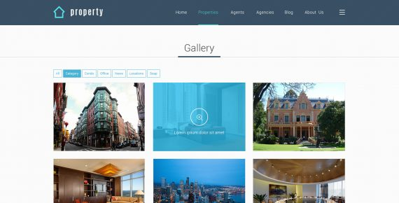 property – real estate psd template screenshot 15