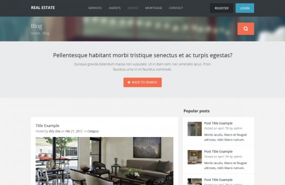 real estate – wordpress theme screenshot 6