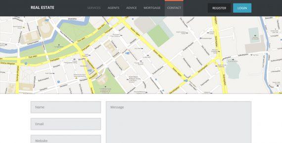 real estate – creative html template screenshot 4