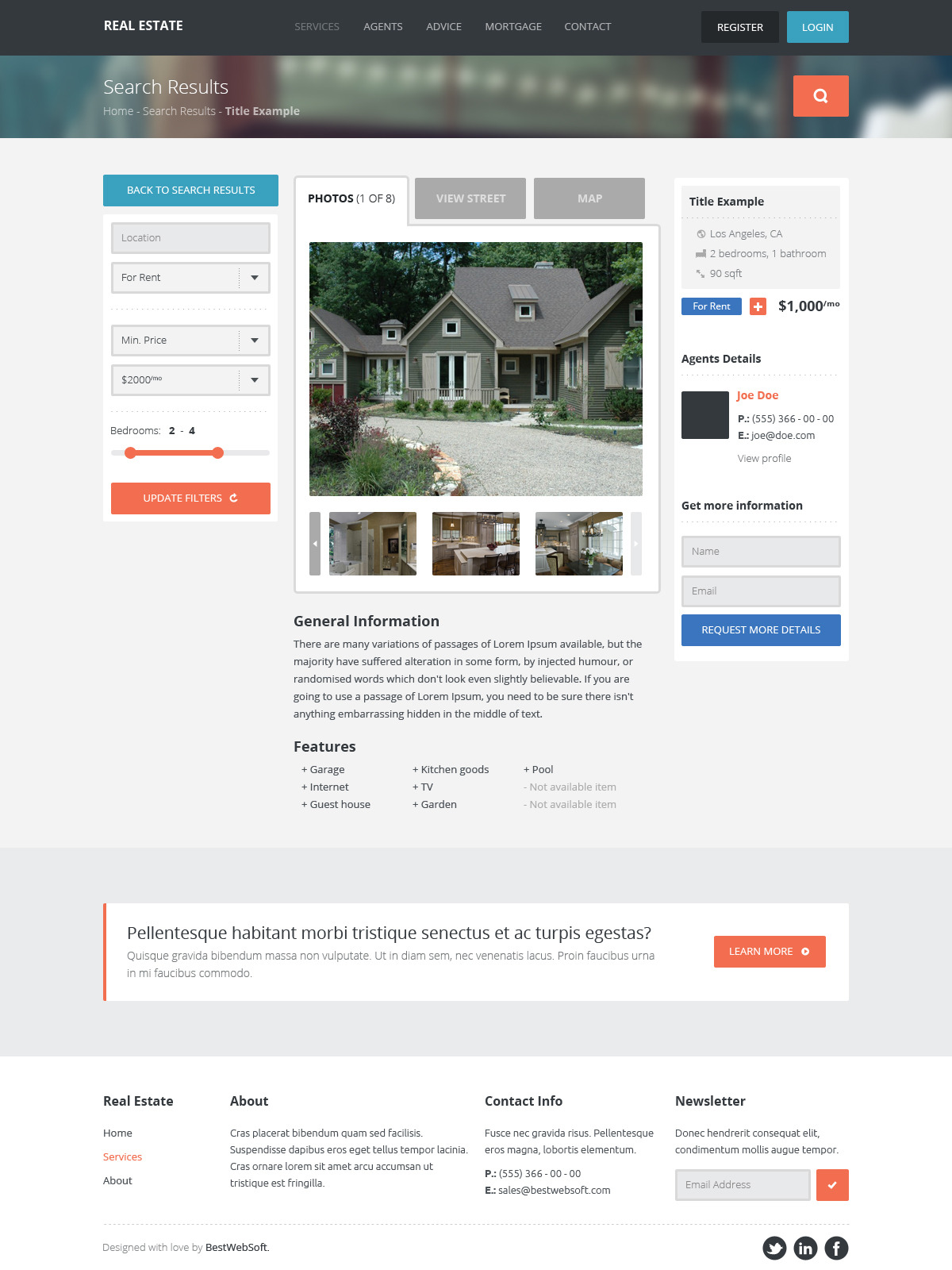 real estate – creative wordpress theme screenshot 6