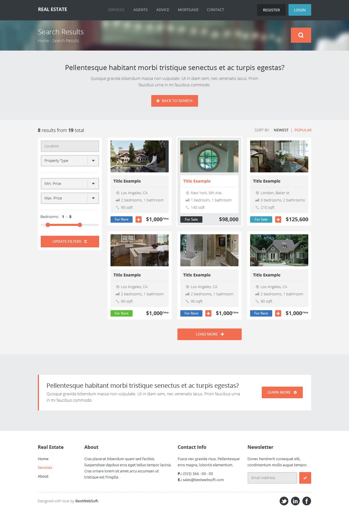 real estate – creative wordpress theme screenshot 9