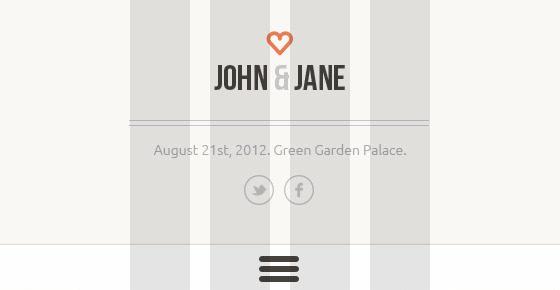 wedding – creative psd template screenshot 6