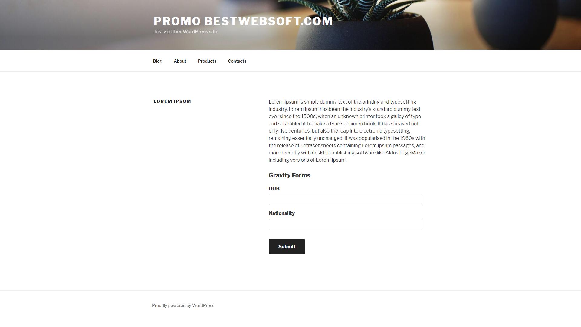 profile extra fields screenshot 2