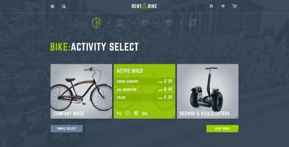 rent a bike – rental & booking psd template screenshot 5