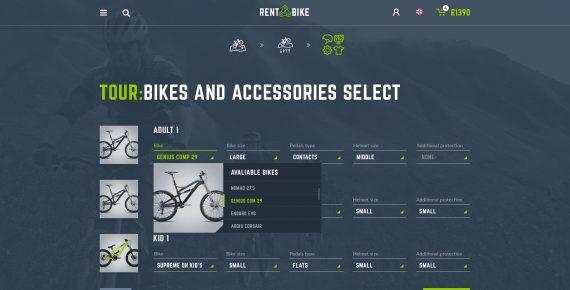 rent a bike – rental & booking psd template screenshot 16