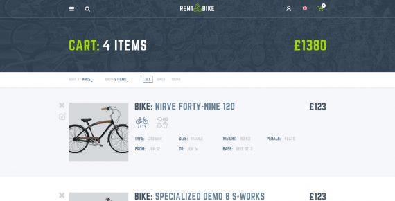 rent a bike – rental & booking psd template screenshot 17