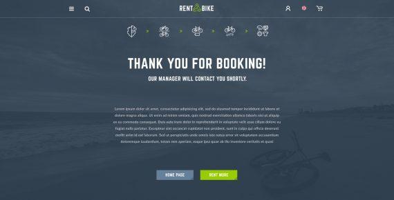 rent a bike – rental & booking psd template screenshot 18