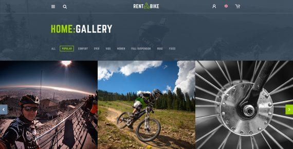 rent a bike – rental & booking psd template screenshot 26