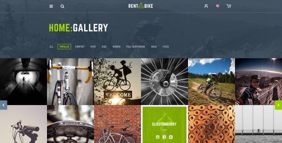 rent a bike – rental & booking psd template screenshot 28