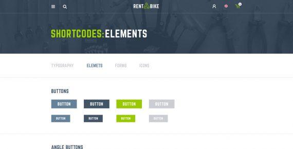 rent a bike – rental & booking psd template screenshot 35