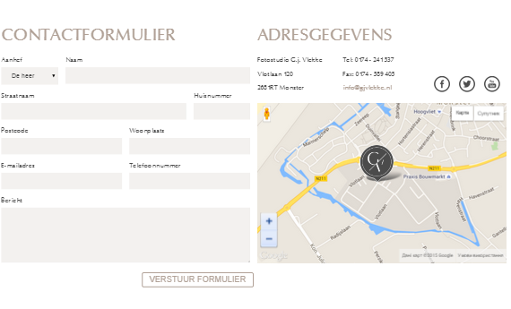 fotograaf – html template screenshot 2