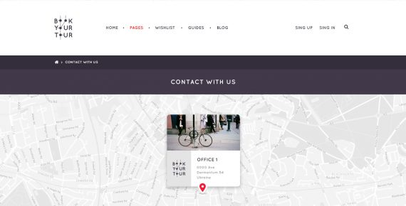 book your tour – excursion community psd template screenshot 23
