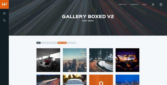 rentify – car rental & booking psd template screenshot 23