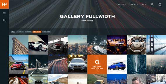 rentify – car rental & booking psd template screenshot 24