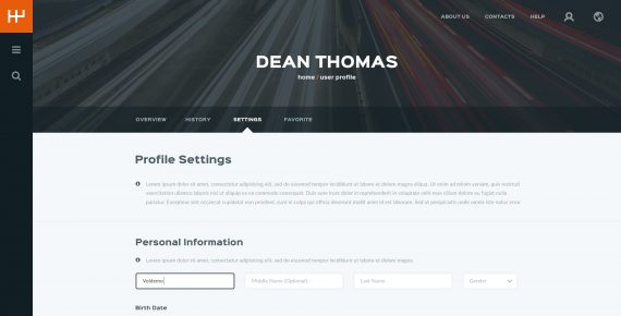 rentify – car rental & booking psd template screenshot 28
