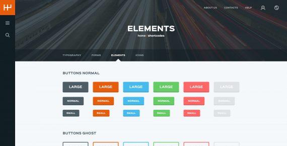 rentify – car rental & booking psd template screenshot 32