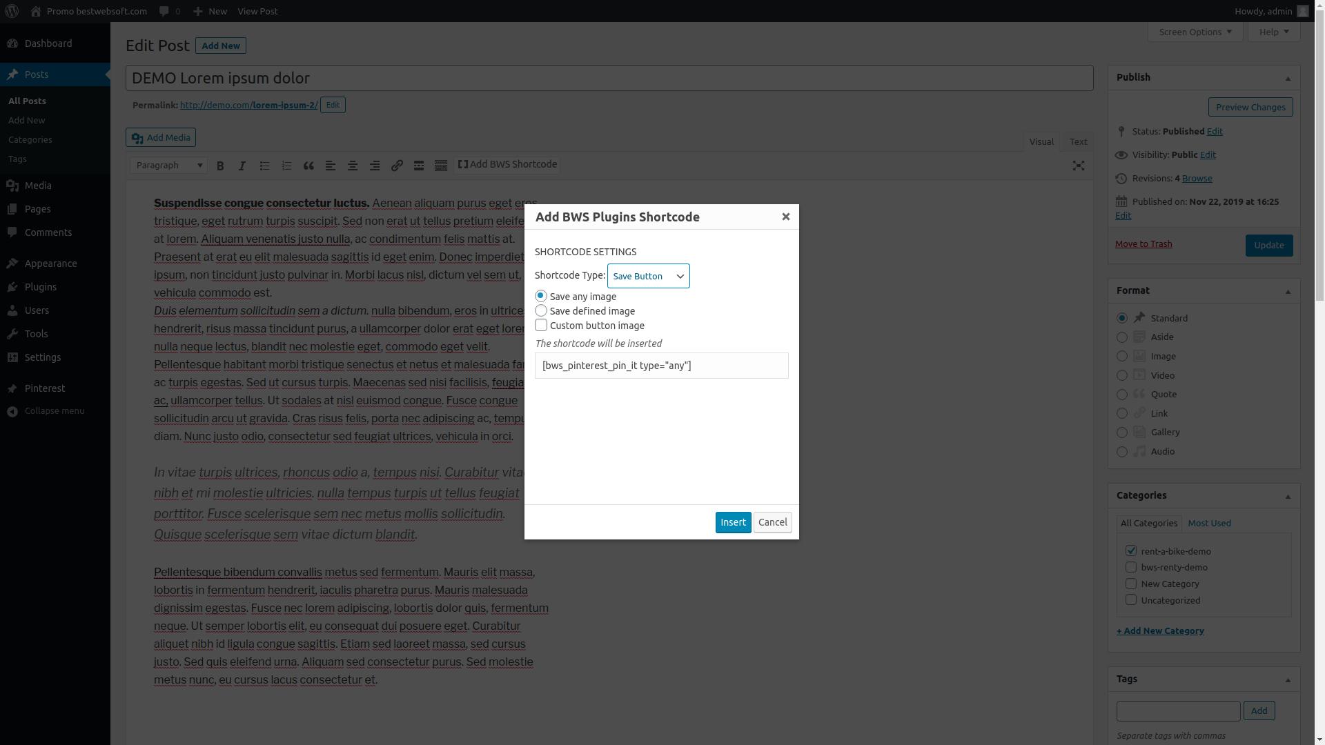bestwebsoft's pinterest screenshot 3