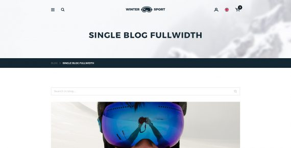 winter sport – ski & snowboard rental psd template screenshot 20