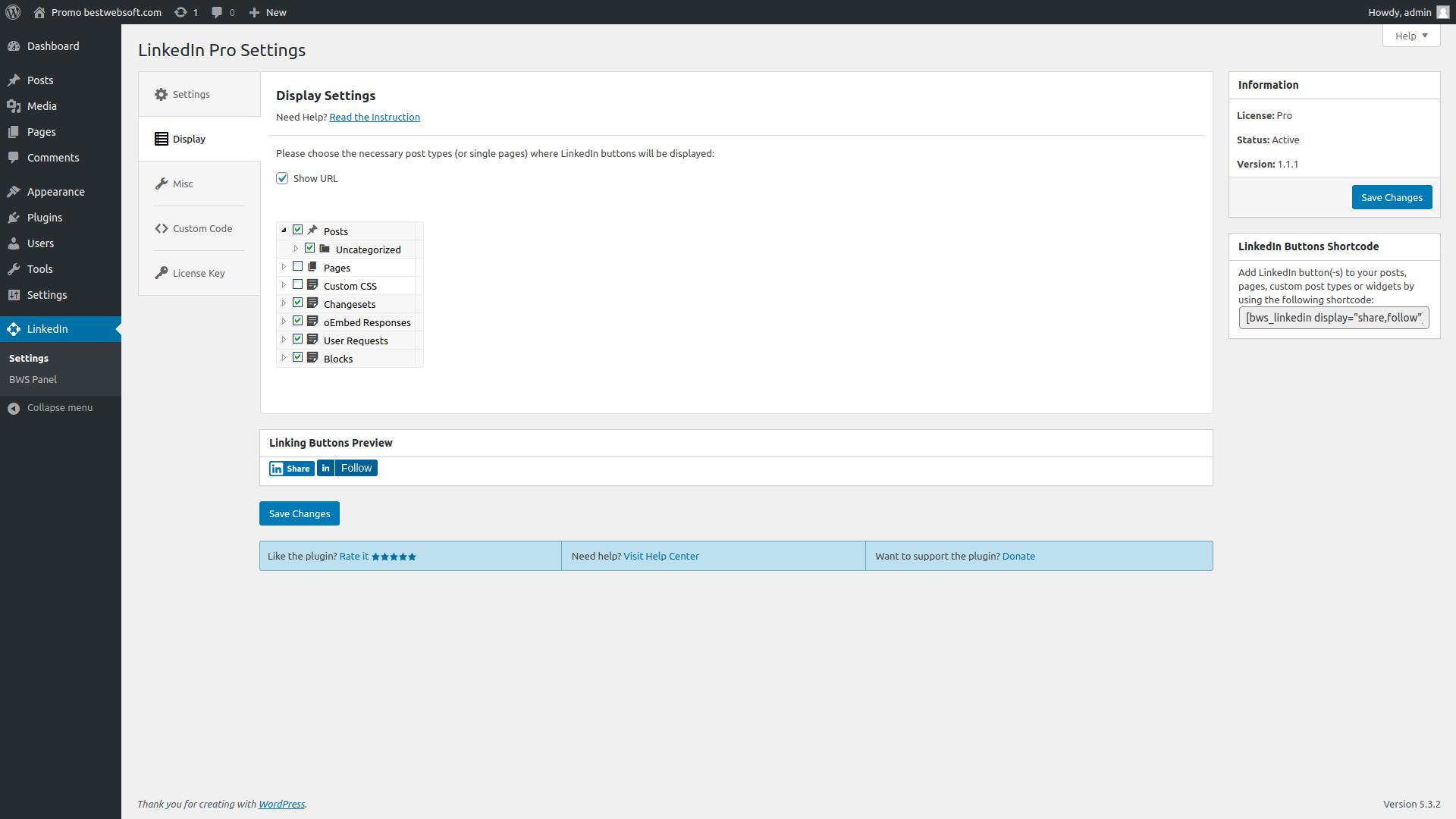 bestwebsoft's linkedin screenshot 1