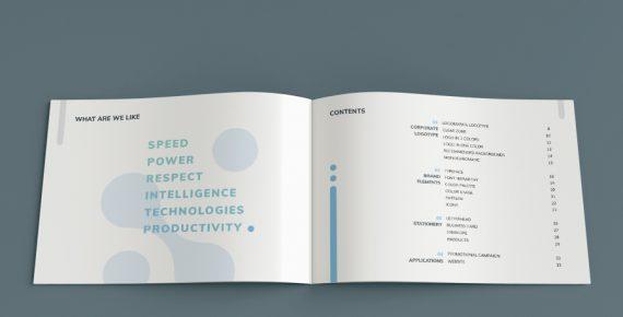 vuesual – brand book presentation template screenshot 4