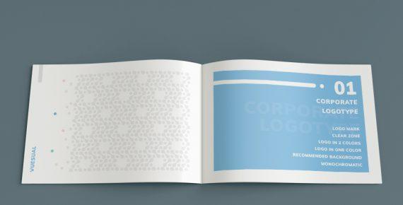 vuesual – brand book presentation template screenshot 5