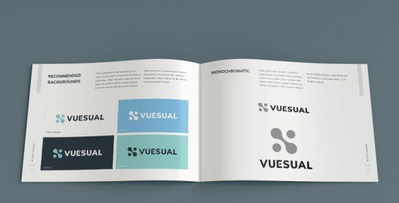 vuesual – brand book presentation template screenshot 9