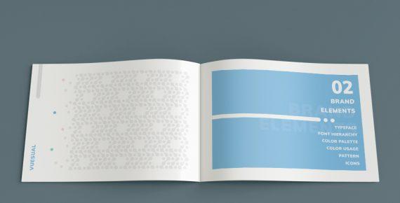 vuesual – brand book presentation template screenshot 10