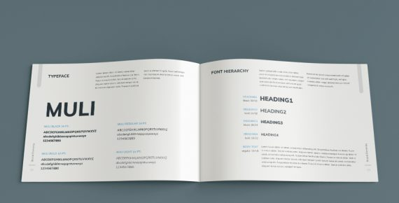 vuesual – brand book presentation template screenshot 11