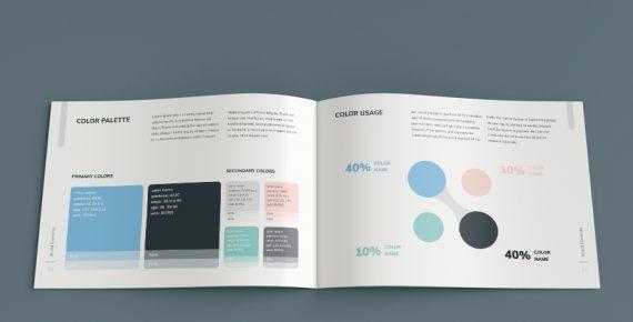 vuesual – brand book presentation template screenshot 12