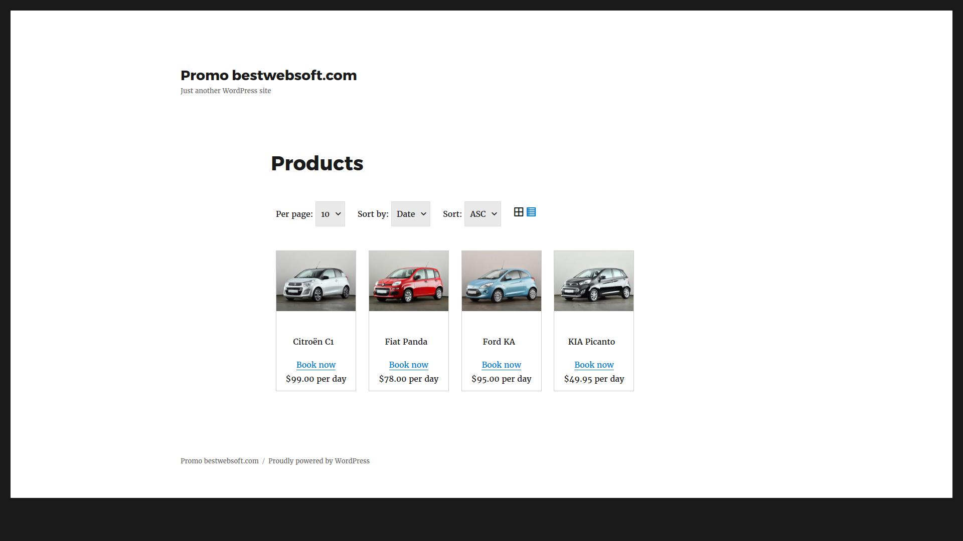 car rental v2 screenshot 2