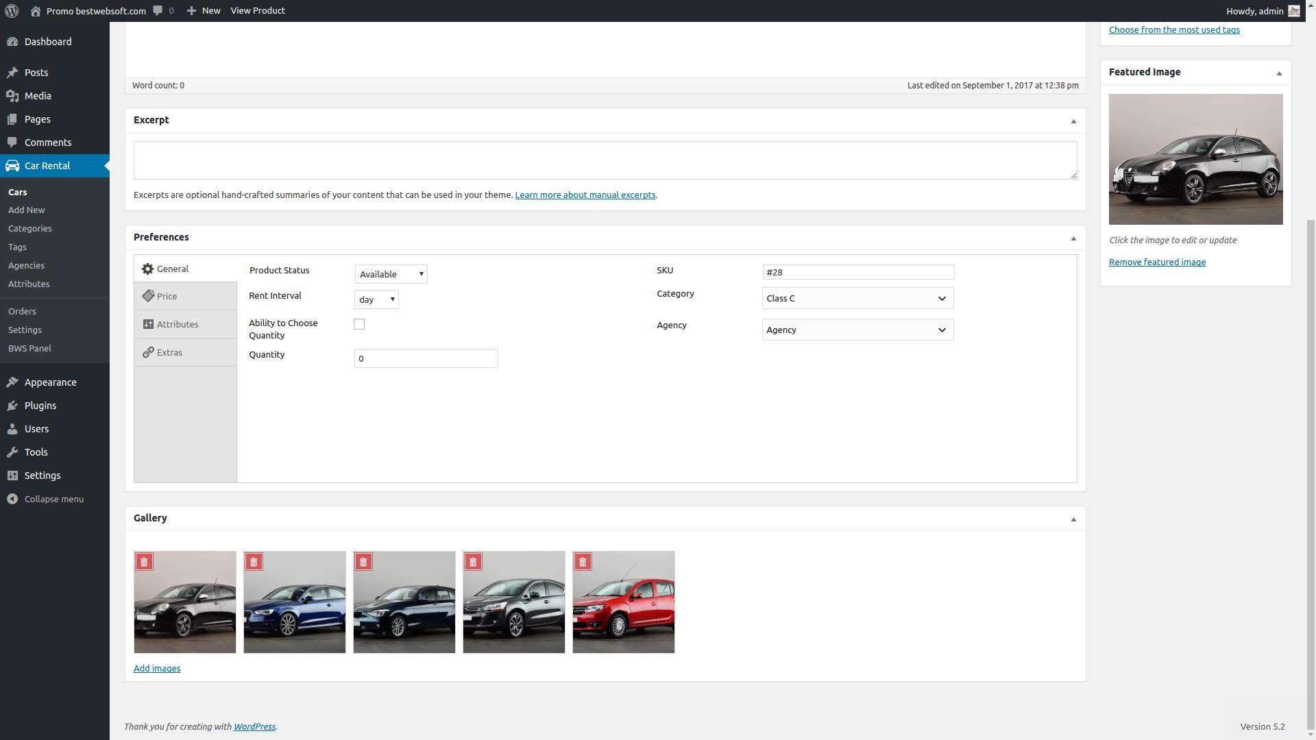 car rental v2 screenshot 9