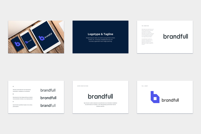 brandfull – branding delivery template screenshot 3
