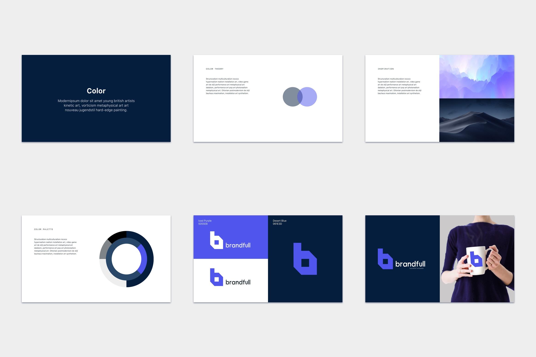 brandfull – branding delivery template screenshot 5