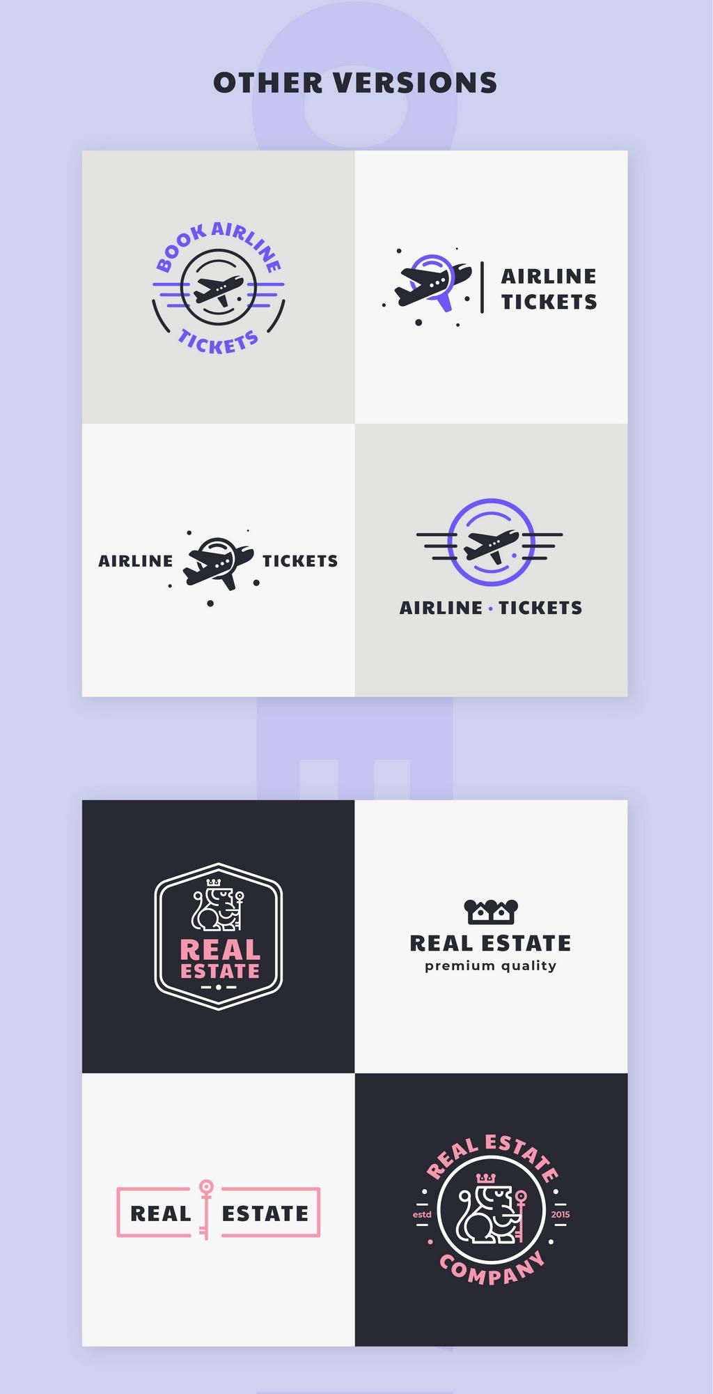 logo & brand identity pack screenshot 2