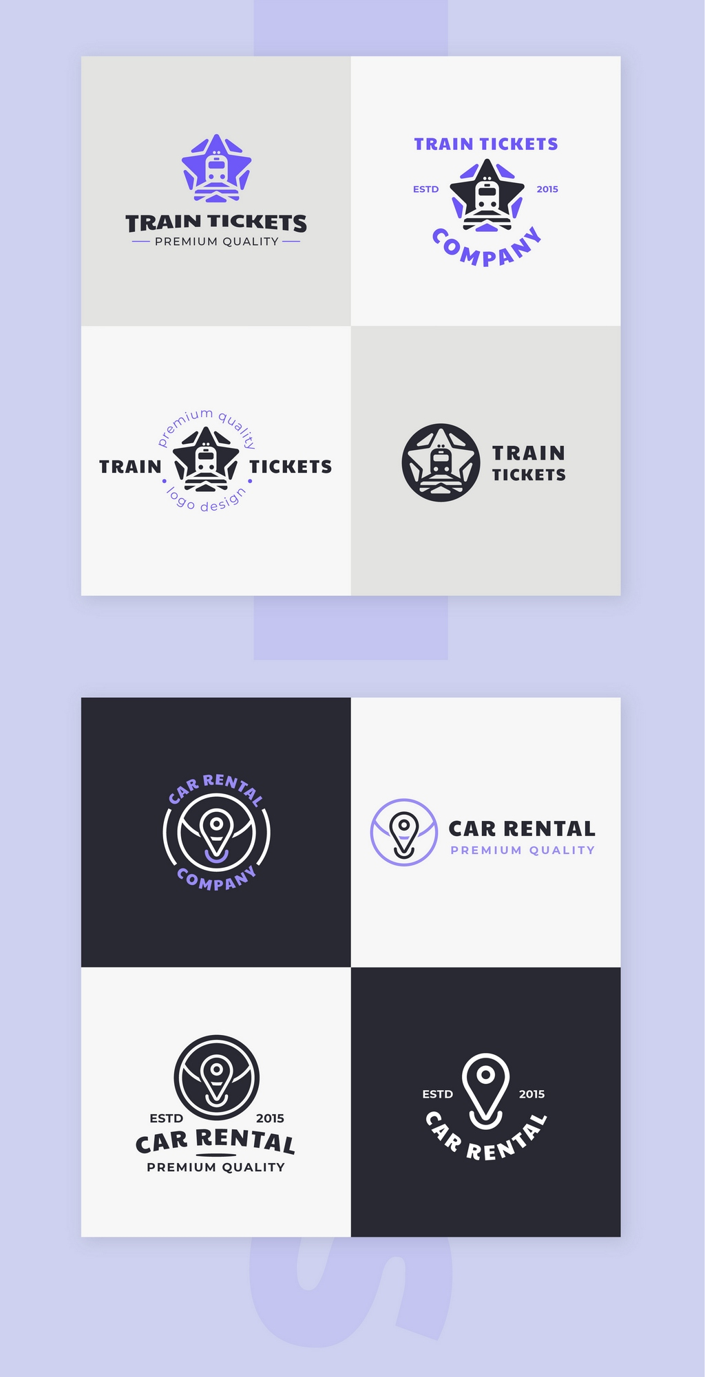 logo & brand identity pack screenshot 3
