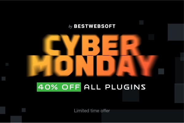 Cyber Monday Sale 2019: 40% Off All WordPress Plugins