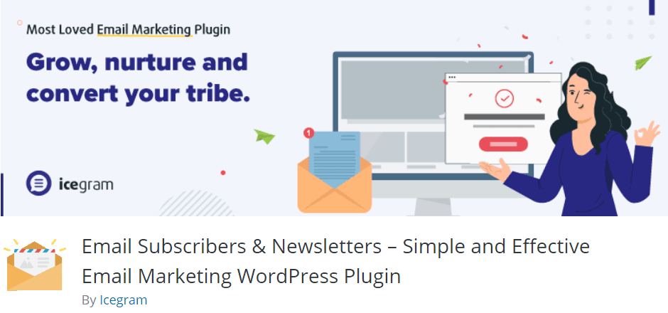 Email Subscribers & Newsletters by Icegram wordpress