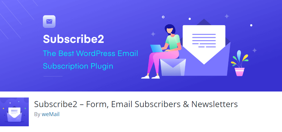 Subscribe2 by weMail wordpress
